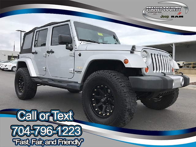Pre Owned 2009 Jeep Wrangler Unlimited Sahara